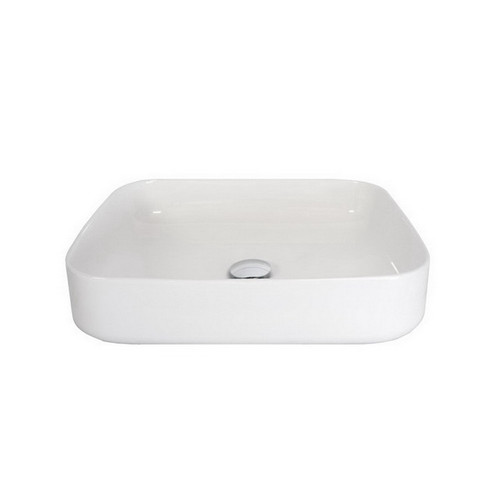 Cino Above Counter Basin 500mm x 390mm x 130mm Gloss White [156645]