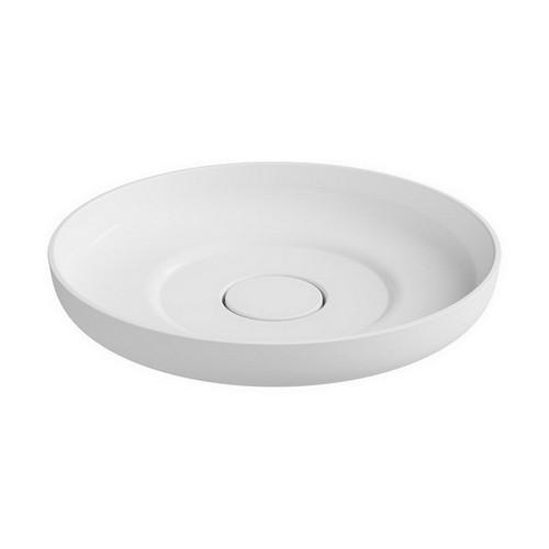 Flume Above Counter Basin 400mm x 400mm x 101mm Matte White [169926]