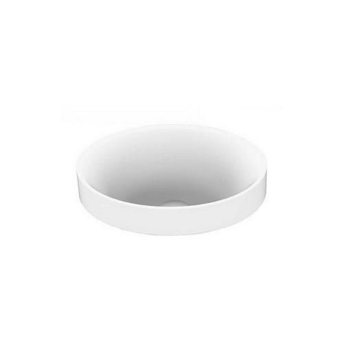 Joy Above Counter Semi-Inset Basin 277mm x 190mm x 120mm Matte White [169928]