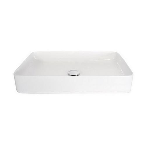 Lino Small Space Basin 610mm x 350mm x 110mm Gloss White [169929]