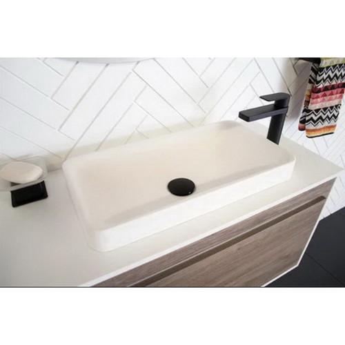 Faith Semi-Inset Basin 500mm x 260mm x 99mm Gloss White [169967]