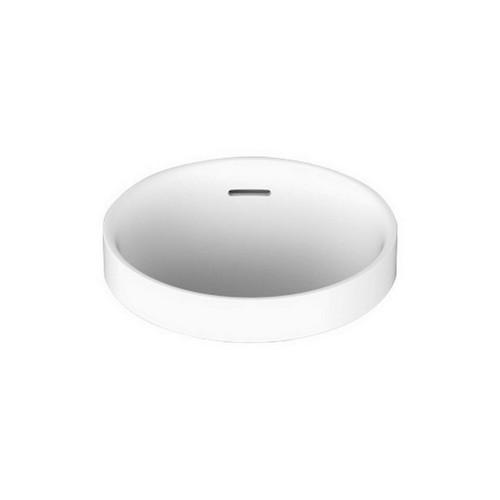 Luka Above Counter Semi-Inset Basin 320mm x 345mm x 170mm Gloss White [169930]