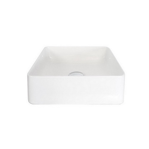 Malo Above Counter Basin 360mm x 360mm x 110mm Gloss White [169932]