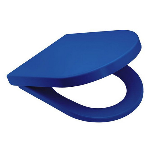 UF Toilet Seat Soft Close Blue [191153]