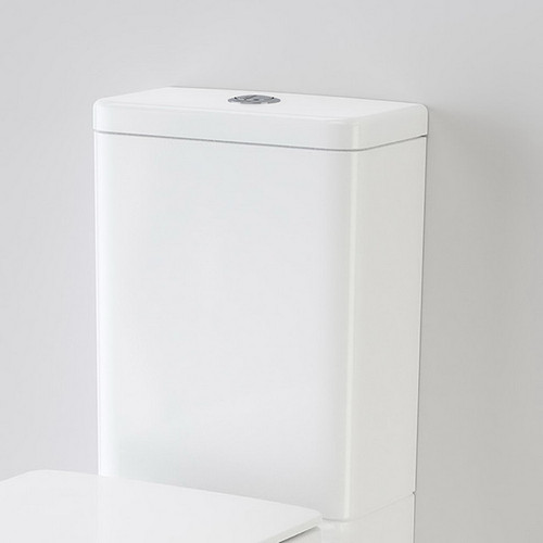 Liano Clean Flush Wall Faced Close Coupled Back Entry Back to Wall Cistern White [192036]