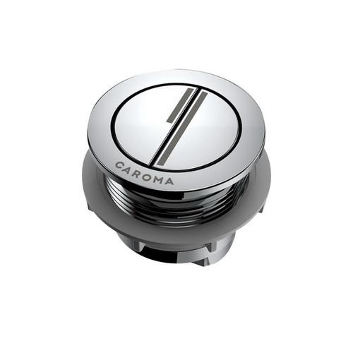 Round Dual Flush Button & Bezel Chrome [192362]