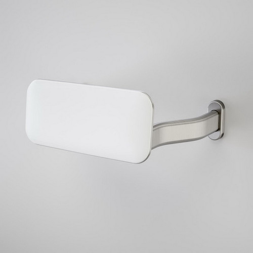 Backrest - Extra Wide Arms Stainless Steel [193036]