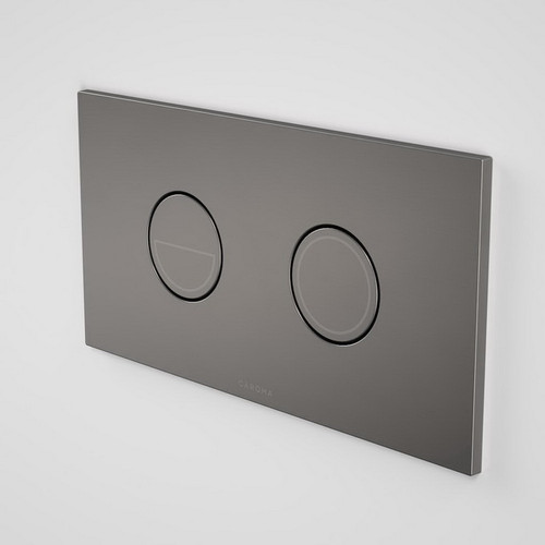 Invisi Series II Round Dual Flush Plate & Buttons Gunmetal [195953]