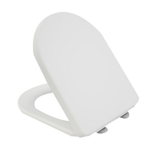 Vogue Soft Close Toilet Seat Quick Release Blind Fixing White [195956]