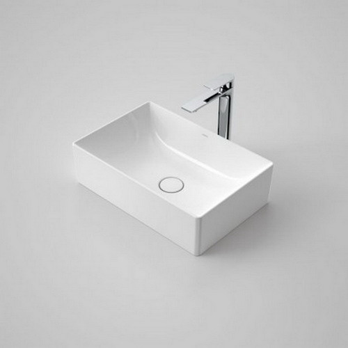 Urbane II Above Counter Basin 500mm x 330mm x 187mm No Tap Hole No Overflow White [195983]