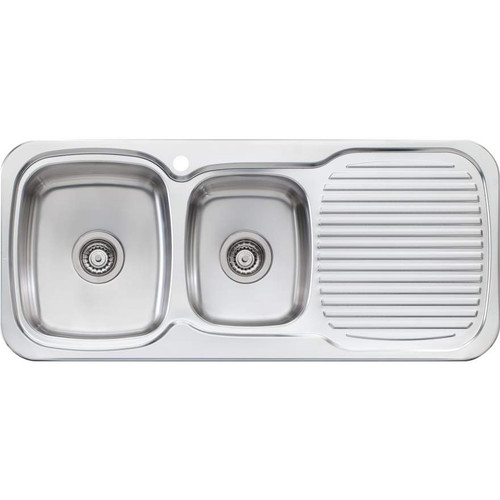 Lakeland 1 & 3/4 Bowl Sink With Drainer-1TH [067041]