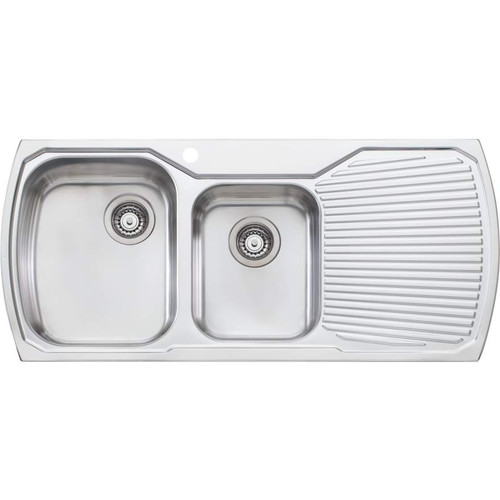 Monet 1 & 3/4 Bowl Topmount Sink With Drainer-1TH [067330]