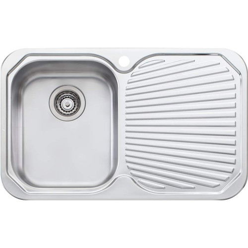 Petite Single Bowl Sink With Drainer-1TH [067861]