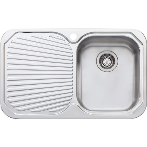 Petite Single Bowl Sink With Drainer-1TH [067863]
