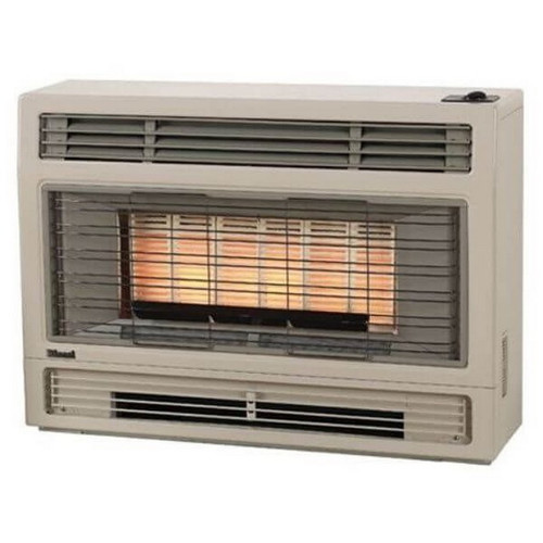2001 Console Gas Heater 5.2kW Natural Gas Beige [077521]