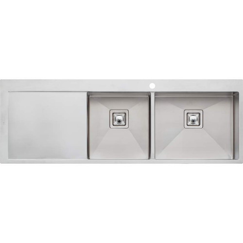 Professional Series 1 & 3/4 Bowl Topmount Sink With Drainer-1TH [130747]