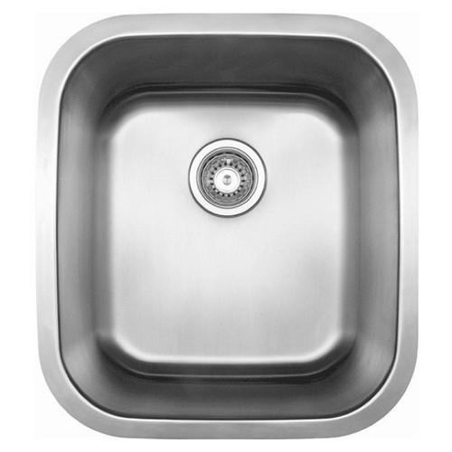 Leichardt 45L Undermount Skinny Mini Laundry Tub Satin [133072]