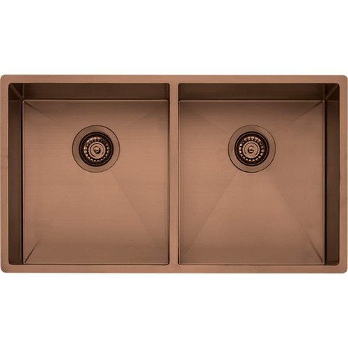 Spectra Double Bowl Copper Sink-NTH [152548]