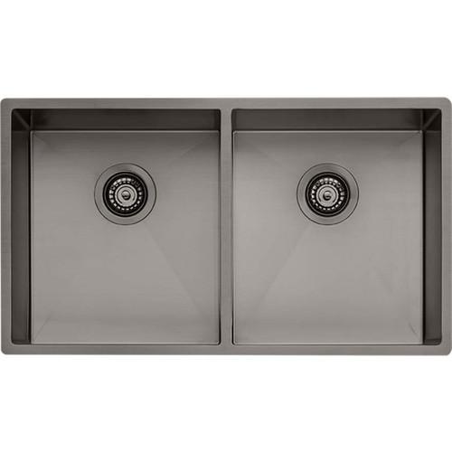 Spectra Double Bowl Gunmetal Sink-NTH [152551]