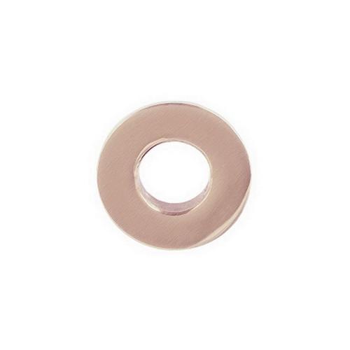 Jamiej Overflow Ring Brushed Rose Gold [157882]