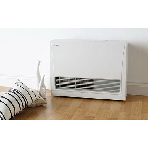 Energysaver Gas Heater 5.4kW Natural Gas White with 2hr Timer [167699]