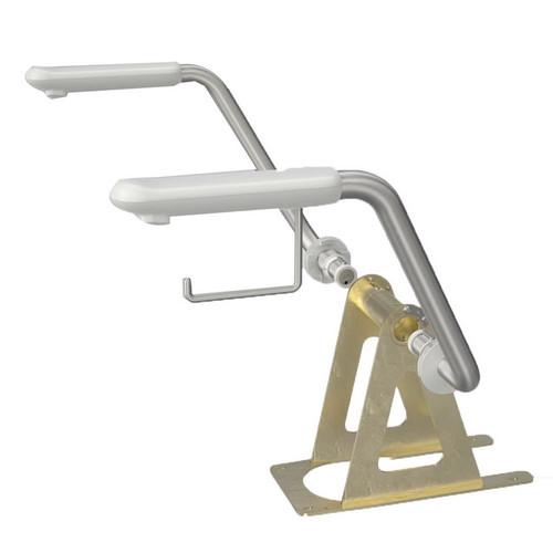 Care 800 Easy Height Armrest Stainless Steel [193030]