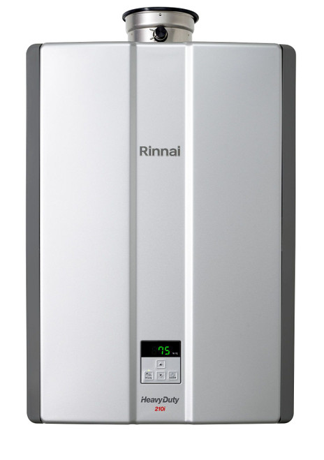Heavy Duty 210MJ Internal High Efficiency Continuous Flow Natural Gas Preset 75 degrees [194558]