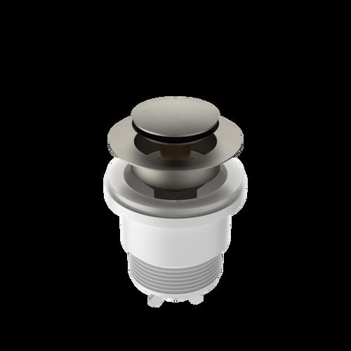 Urbane ll Bath Pop-Up Plug & Waste 68mm x 55mm x 68mm Brushed Nickel [195959]