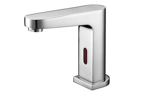 Basin Pillar Tap Sensor Nero 6Star C/P [254088]