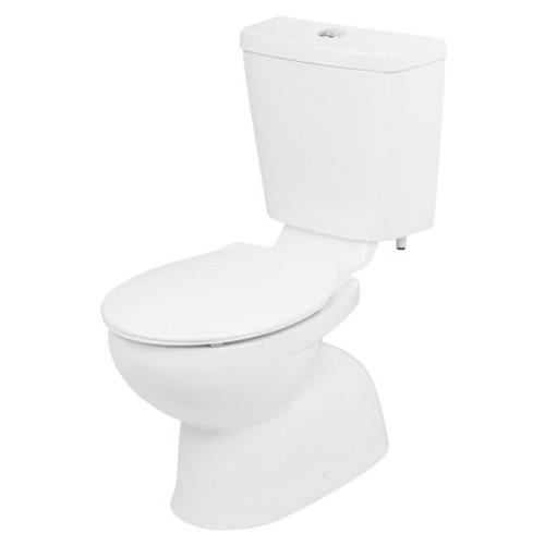 Venecia Connector Toilet Suite - Bottom Inlet, S Trap, Standard Seat [105215]