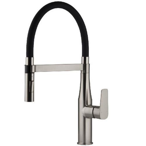 Coriander eFit Sink Mixer Round Brushed Nickel [250199]