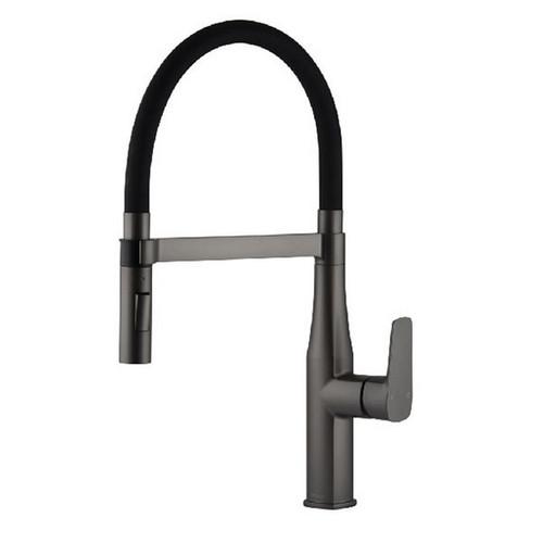 Coriander eFit Sink Mixer Round Gun Metal [250201]