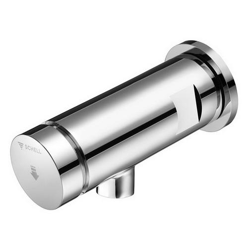 Petit Self Closing Wall Basin Mixer Chrome [253916]