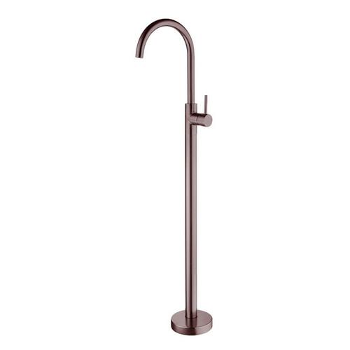 Dolce Floor Mount Bath Mixer Brushed Bronze [254053]