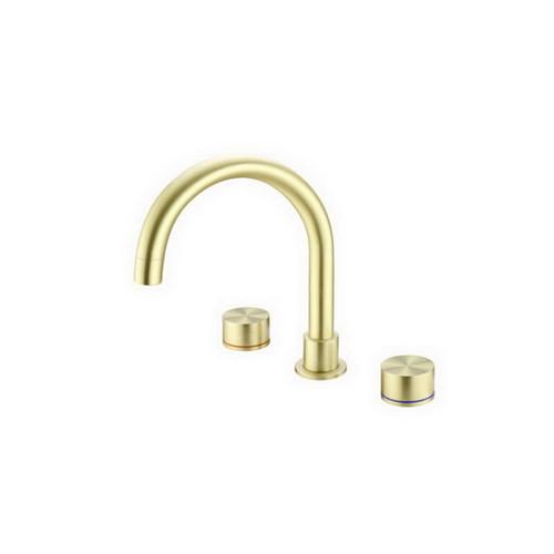 Kara Bath Set Brushed Gold [254057]