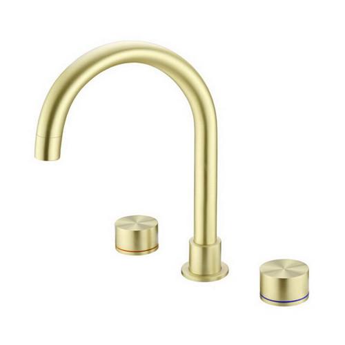 Kara Sink Tap Set Brushed Gold [254063]