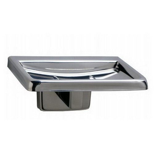 Soap Dish with Drain Holes Bright Polished [254251]