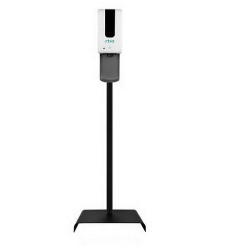 1.2L Freestanding Sensor Gel/Liquid Sanitiser Dispenser with Drip Tray White [254254]