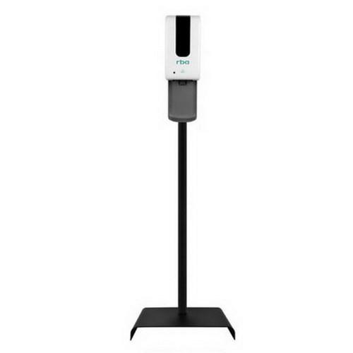 1.2L Freestanding Sensor Spray Sanitiser Dispenser With Drip Tray White [254257]