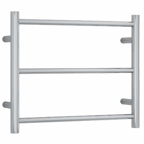 Thermorail Round Heated Towel Ladder 33W 3 Bar 550 x 450mm Polished Stainless Steel [254355]