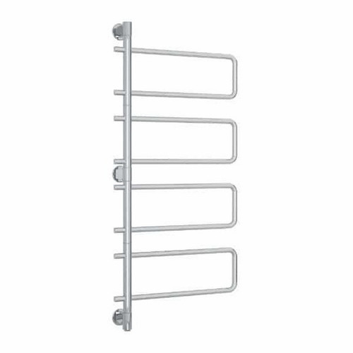 Thermorail Heated Swivel Towel Rail 88W 570 x 1260mm Stainless Steel [254394]