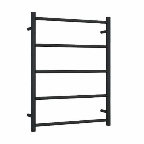 Thermorail Non-Heated Towel Ladder 5 Bar 630 x 800mm Matt Black [254396]