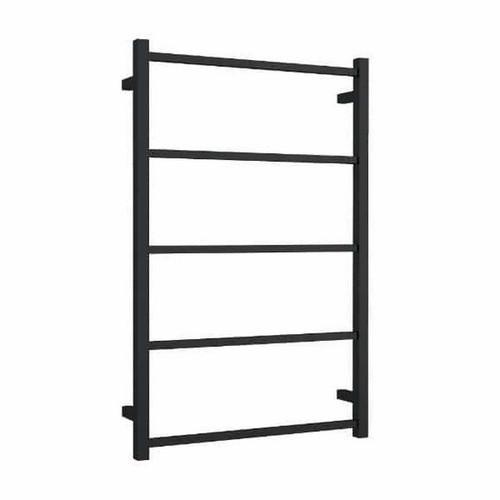 Thermorail Non-Heated Towel Ladder 5 Bar 650 x 1000mm Matt Black [254397]