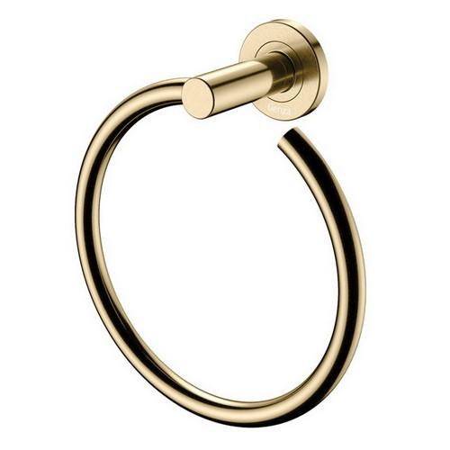 Kaya Hand Towel Ring Urban Brass [201967]
