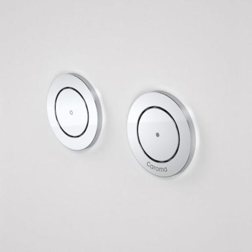 Invisi Series II® Round Dual Flush Remote Buttons (Plastic) Satin [111408]