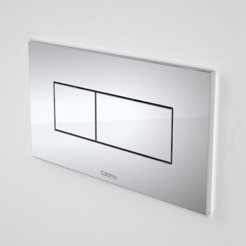 Invisi Series II® Rectangular Dual Flush Plate & Buttons (Metal) [111409]