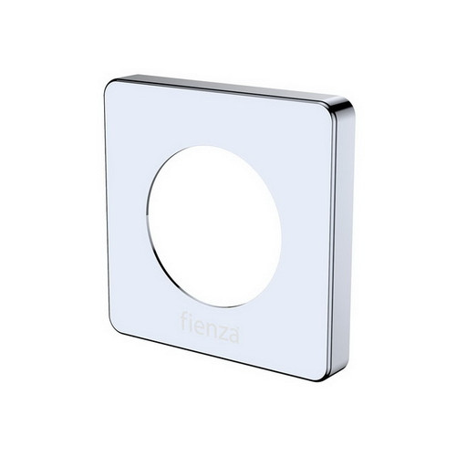 Sansa Soft Square Cover Plate Polished Chrome [202003]