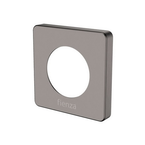 Sansa Soft Square Cover Plate PVD Gun Metal [202005]