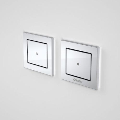Invisi Series II® Rectangle Dual Flush Remote Buttons (Plastic) [111411]
