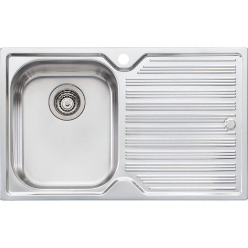Diaz Single Bowl Topmount Sink With Drainer-1TH [112984]